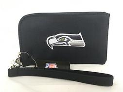 Seattle Seahawks ID Wallet Wristlet Cell Phone Case Charm 14