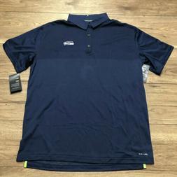 Seattle Seahawks Mens Nike Polo, 837209 419, Sz XL NWT