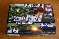 Seattle Seahawks NFL American Football 64 Piece OYO End Zone