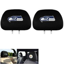 Seattle Seahawks NFL Headrest Covers  Covers