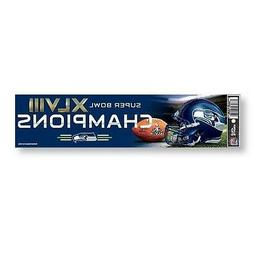 Seattle Seahawks Officially Licensed Super Bowl Champions Bu