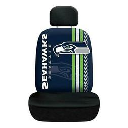 Seattle Seahawks Rally Design Seat Cover  NFL Car Truck Seat