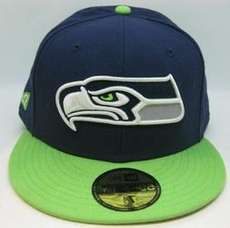 Seattle Seahawks SEA NFL Authentic New Era 59FIFTY Fitted Ca