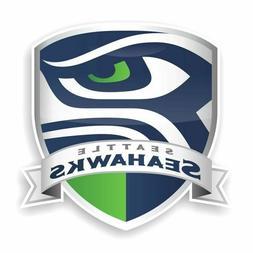 Seattle Seahawks Shield Decal / Sticker Die cut Logo Vinyl F