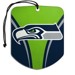 Seattle Seahawks Shield Design Air Freshener 2 Pack  NFL Fre