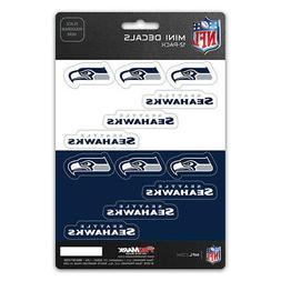 Seattle Seahawks Stickers Die Cut Mini Decals 12-Pack Sticke