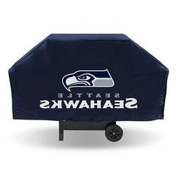 """Seattle Seahawks Vinyl Grill Cover  NFL 68"""" Economy Wide Gri"""