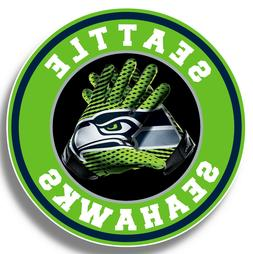 Seattle Seahawks Vinyl Sticker Decal 9 Different Size Car Wi