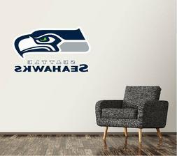 Seattle Seahawks Wall Decal Logo Football NFL Art Sticker Vi