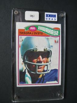 steve largent 1977 topps rookie card 177