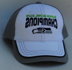 SUPER BOWL XLVIII CHAMPIONS Seattle Seahawks Baseball Cap Ha
